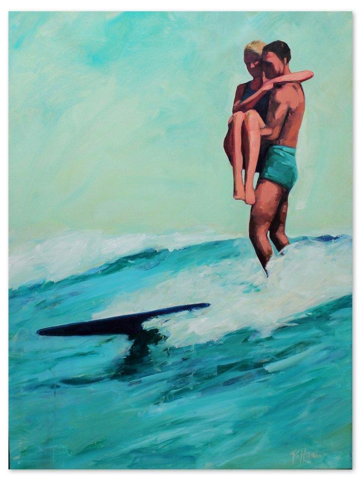 T.S. Harris, Surfing