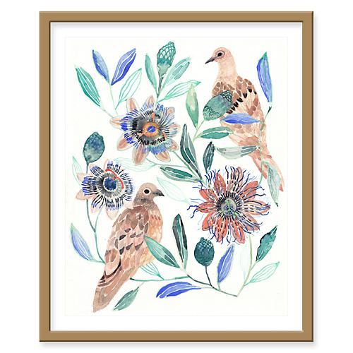 Michelle Morin, Two Mourning Doves