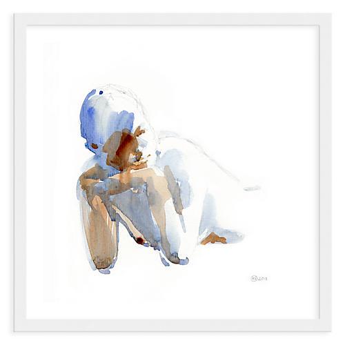 Helen Strom, Woman in Blue