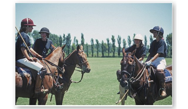 Slim Aarons, Polo in Argentina