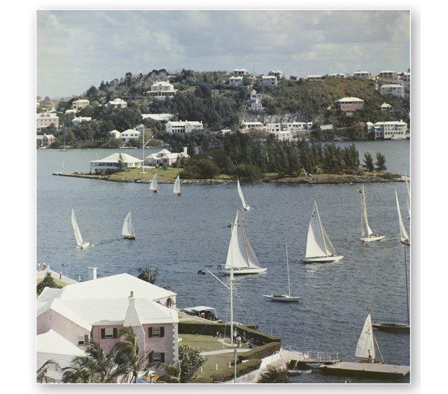 Slim Aarons, Bermuda View 1957