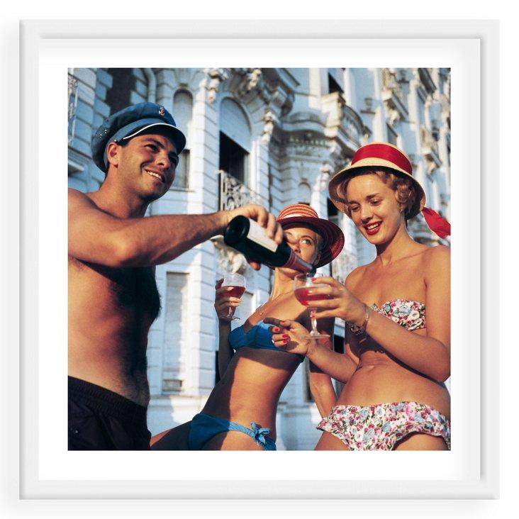 Slim Aarons, Carlton Hotel, Cannes