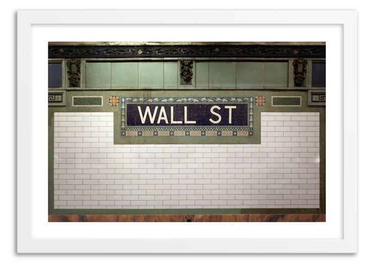 Steve Lewis Stock, Vintage Wall Street