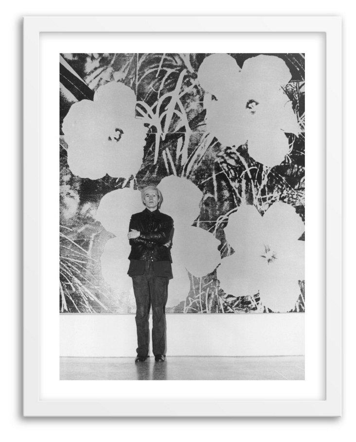 Evening Standard, Warhol's Flowers, 1973