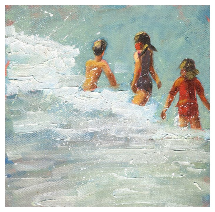 Debbie Miller, In the Surf