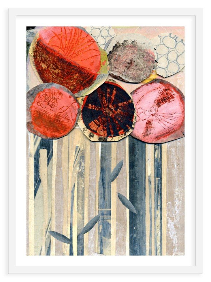 Andrea D'Aquino, Red Flowers