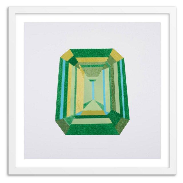 Rankin Willard, Emerald Cut, Green
