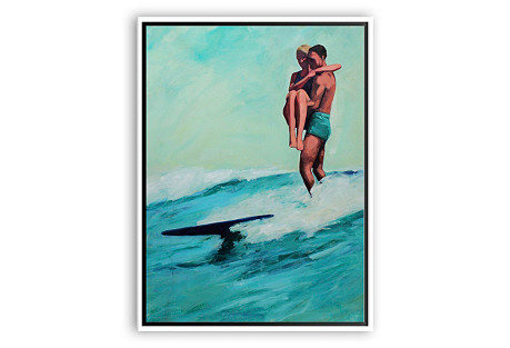 T.S. Harris, Surfing