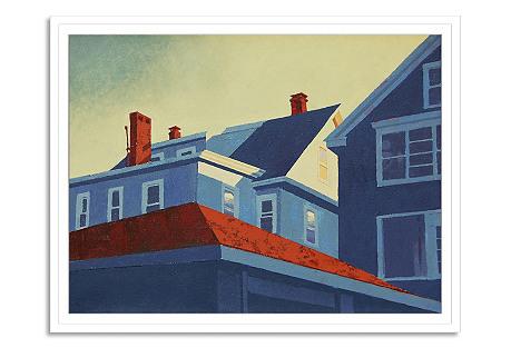 Adal Ortiz, Roof Tops 3