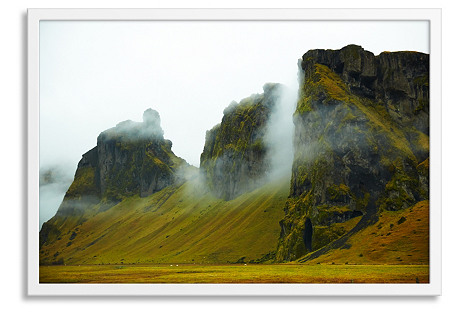 Pascal Shirley, Icelandic Mountains