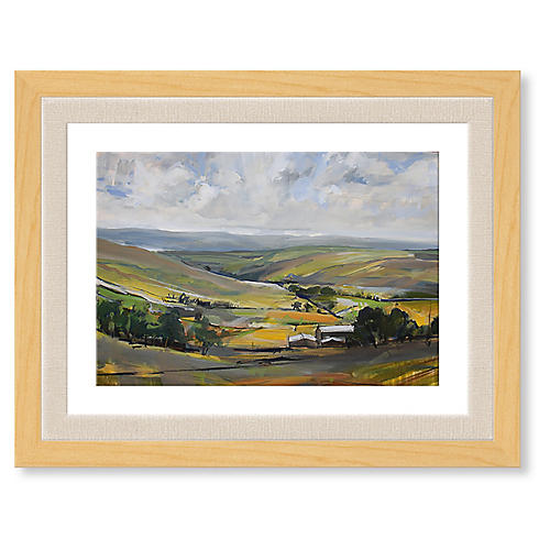 David Pott, Pennine Landscape Near Pendle