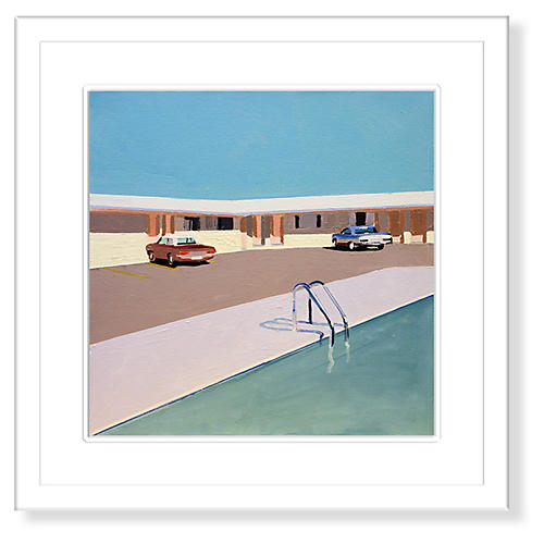 Jessica Brilli, Motel Pool