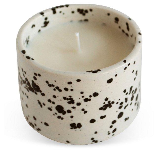 Black & White Candle, Grass Neroli