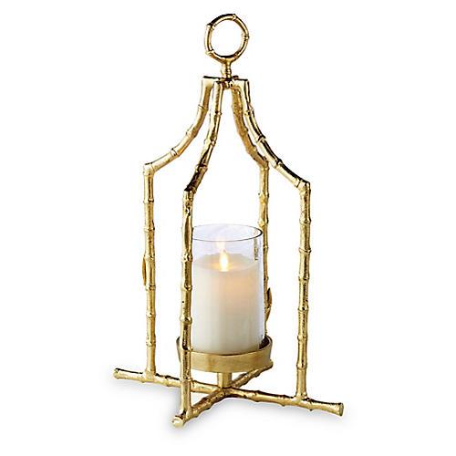"19"" Baldwin Lantern, Gold"