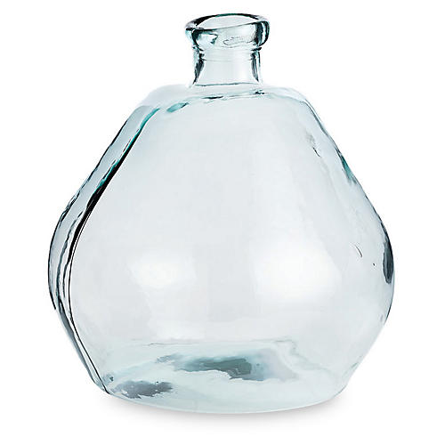 "20"" Marbella Vase, Clear"