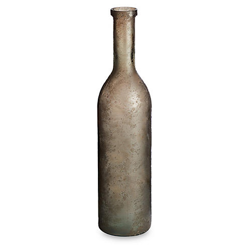 "30"" Bottella Vase, Aged Earth"
