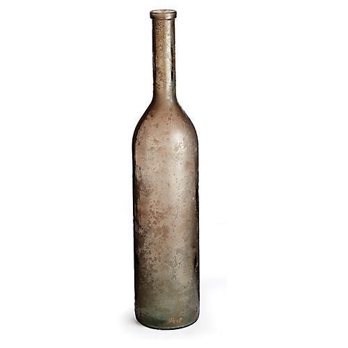 """39"""" Bottella Tall Vase, Aged Earth"""