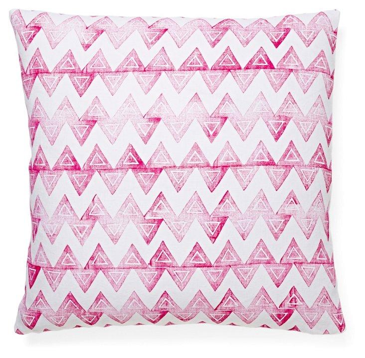 Baxter 20x20 Linen Pillow, Pink