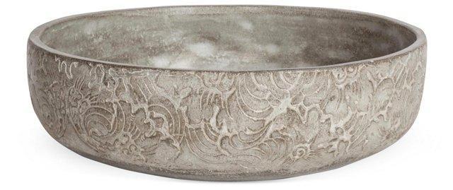 Decorative Cement Bowl