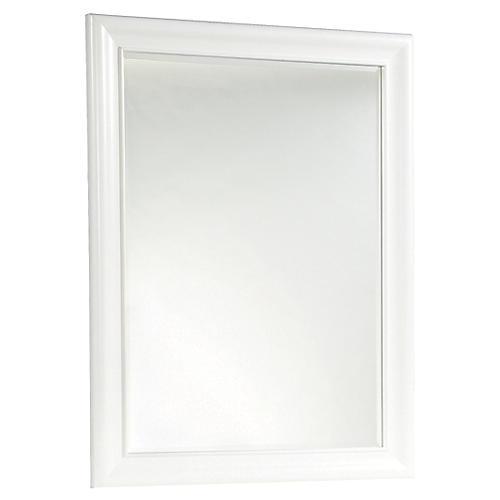 Mason Mirror, White
