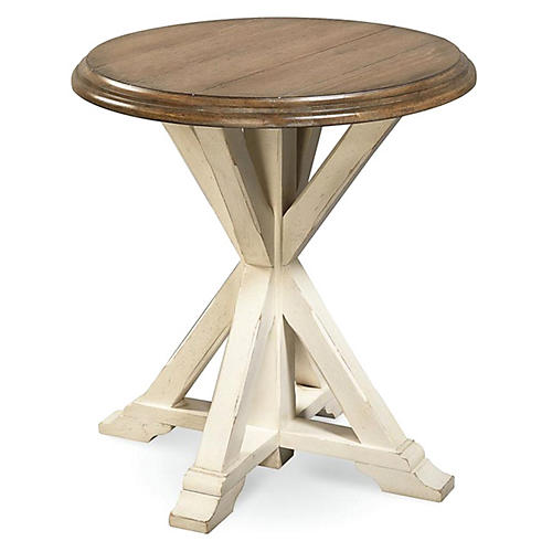 Windsor Side Table, Wheat