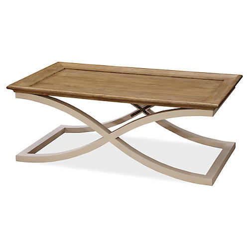 Modern Muse Coffee Table, Natural