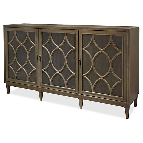 Hudson Sideboard, Java Gray