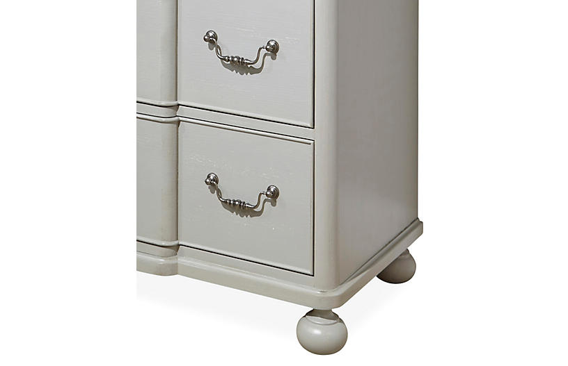 Ruby 66 dresser gray dressers bedroom furniture for Furniture 66 long lane liverpool