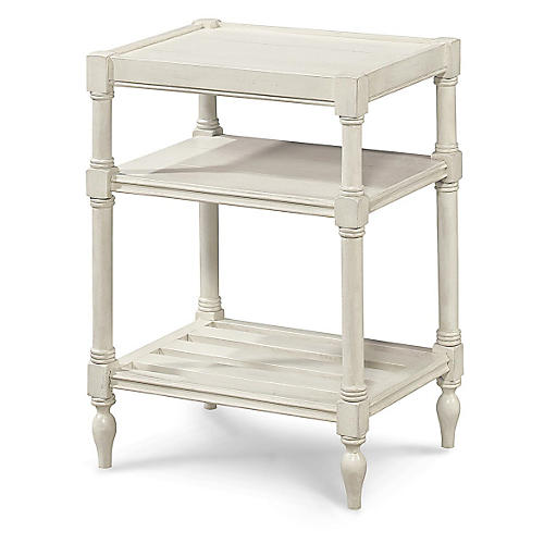 Sarah Side Table, White