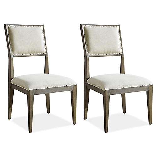 Mackenna Side Chairs, Pair