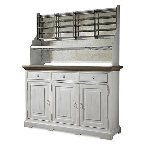 Talbot Cabinet, White
