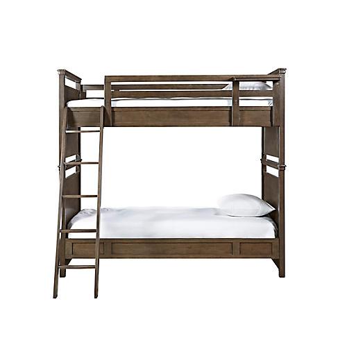 Clara Twin Bunk Bed, Natural