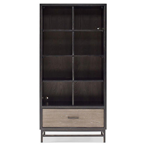 Spencer Bookcase, Gunmetal
