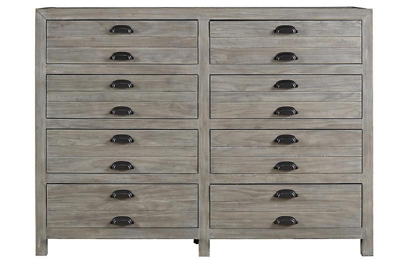 Gilmore Dresser, Graywash