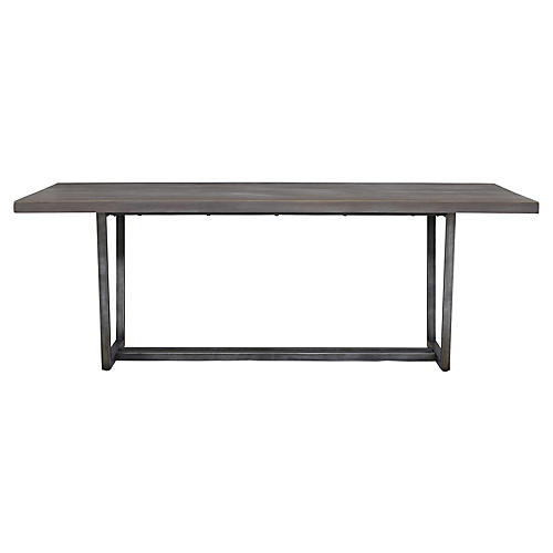 Gilmore Dining Table, Graywash
