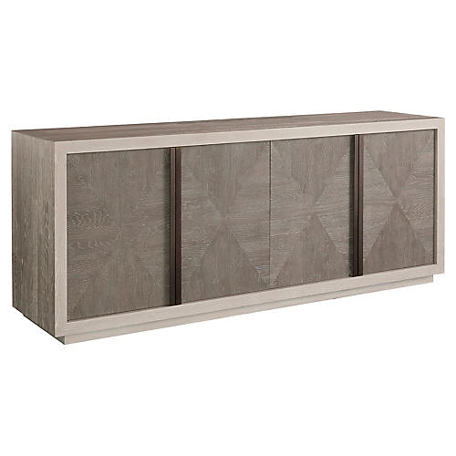 Brinkley Sideboard, Ivory/Graywash