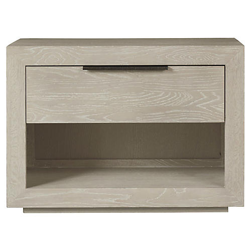 Huston Nightstand, Whitewash