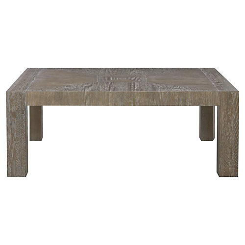 Modern Coffee Table, Graywash