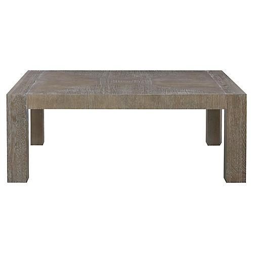 Modern Coffee Table, Graywash