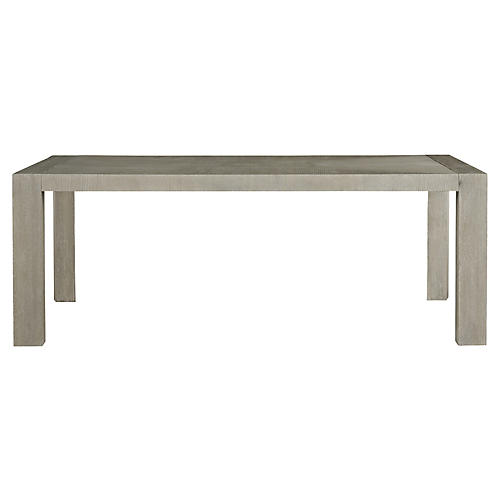Langston Dining Table, Gray
