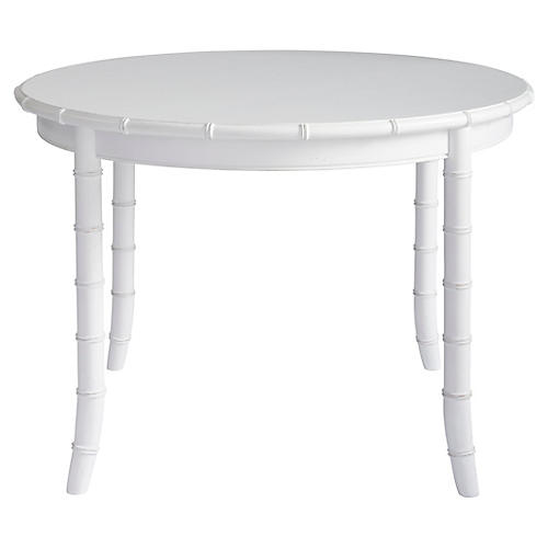 Bungalow Dining Table, White