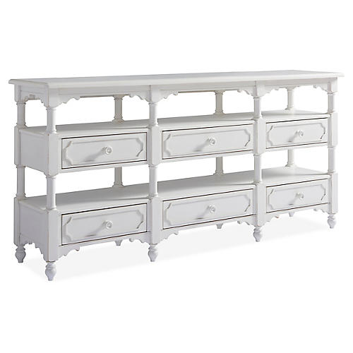 Weekender Console, White