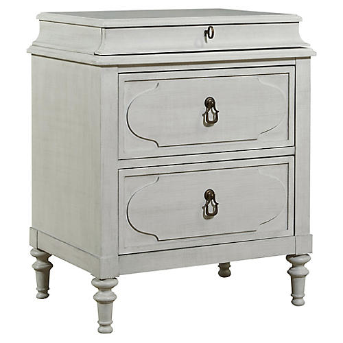 Cancale Nightstand, Off-White