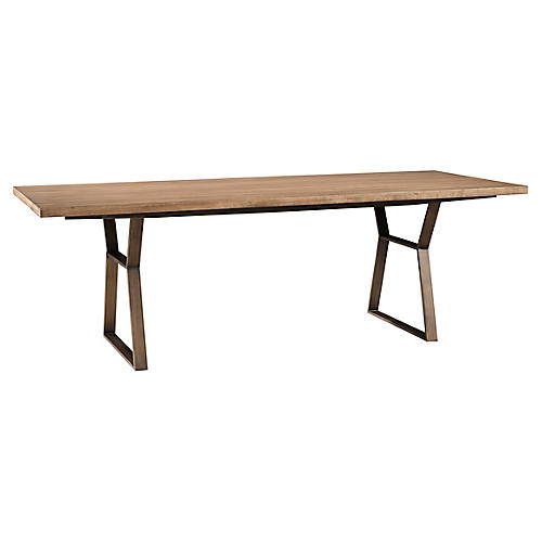 Ainsley Large Dining Table, Natural