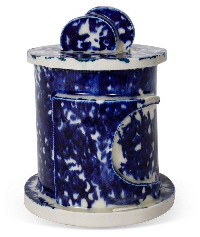 Lidded Porcelain Jar II