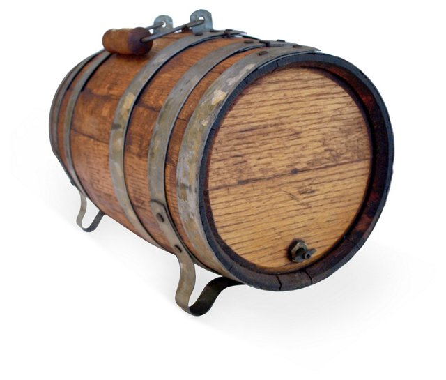 Vintage Whiskey Keg