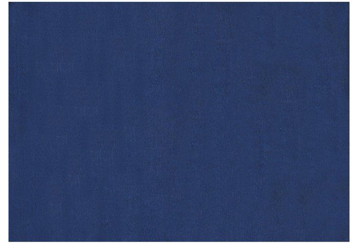 """4'7""""x6'6"""" Sunpat Rug, Royal Blue"""