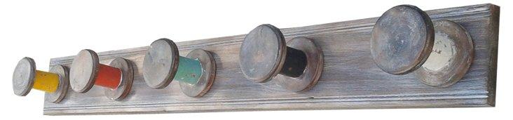 Wood Spool Hooks