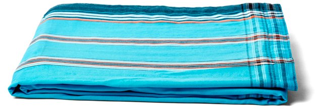 Sarong Towel, Turquoise/Green/Organge