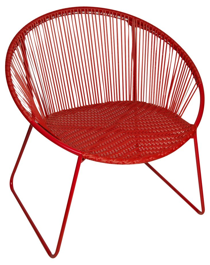 Antigua Chair, Red